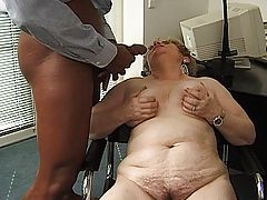 Older secretary fuck her boss (it also hard work in office!)